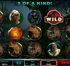 Jurassic Park Slot Feature