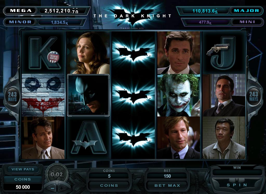 Slot des Monats: The Dark Knight
