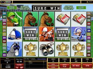 "Versuchen Sie ""Sure Win"" im Casino Classic!"