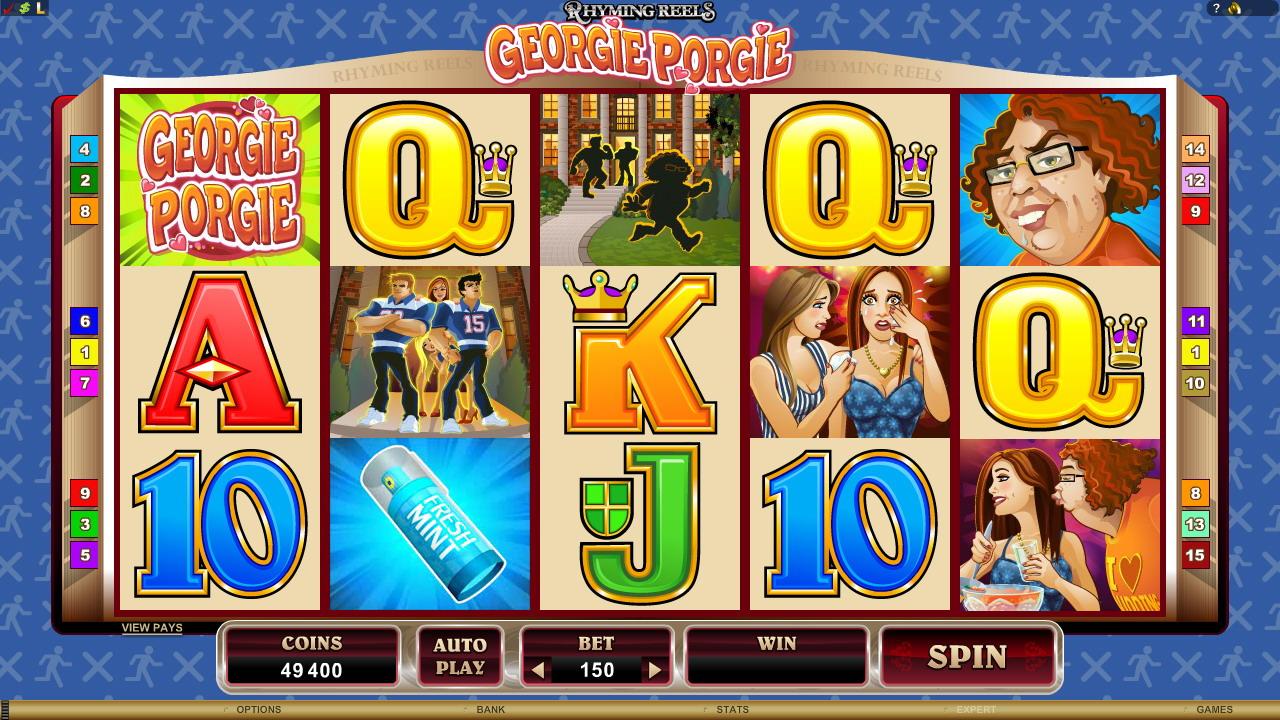Georgie Porgie stellt die Casinowelt auf den Kopf