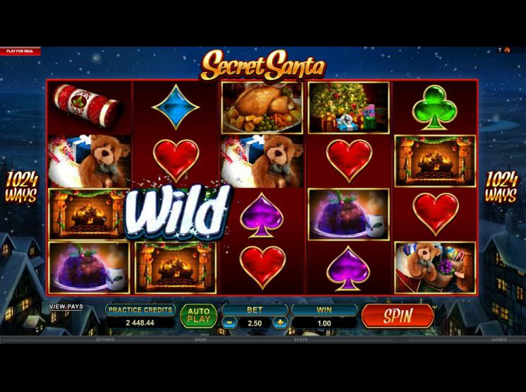 Im Online Casino bringt der Weihnachtsmann jetzt schon Geschenke
