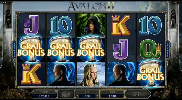 Avalon II – das neue Slot-Highlight der Online Casinos