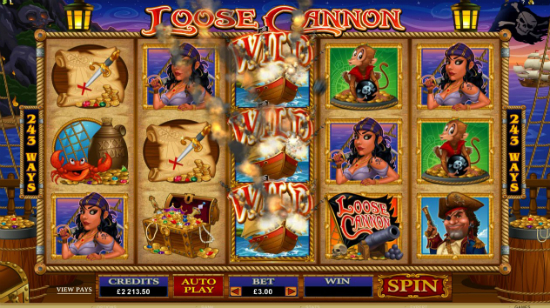 Die neuen Microgaming-Spiele Loose Cannon und Untamed – Crowned Eagle