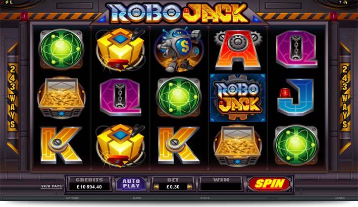 RoboJack von Microgaming – tolle Gewinnchancen im Online Casino