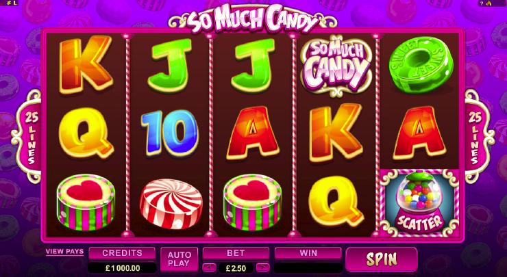 Casinospaß im Süßigkeitenladen – So Much Candy
