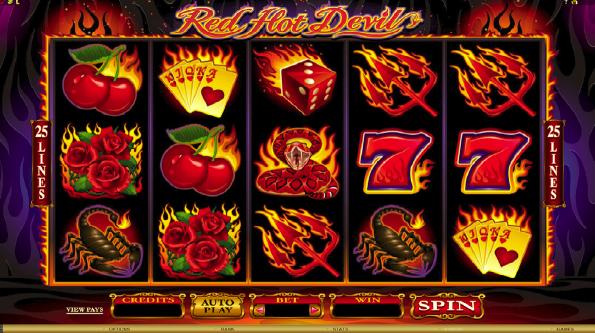 Red Hot Devil: Flammen, Gewinne und Teufelinnen